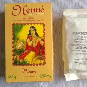 🔥💲2x100g-Henna (natural hair care)